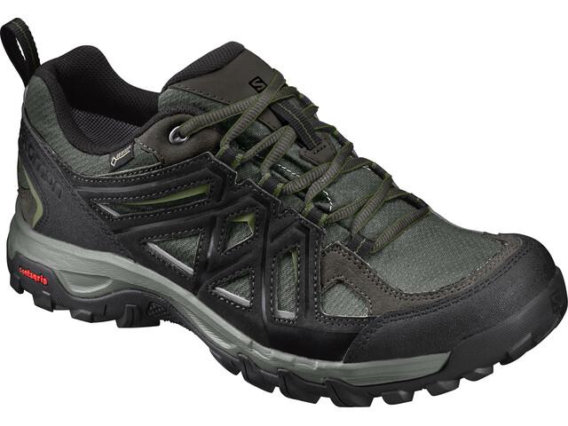 Salomon Evasion 2 GTX Shoes Men Castor Gray/Black/Chive